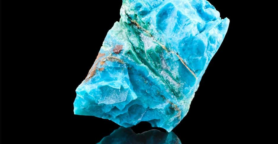 how to identify raw turquoise