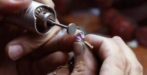 how to polish stones and crystals