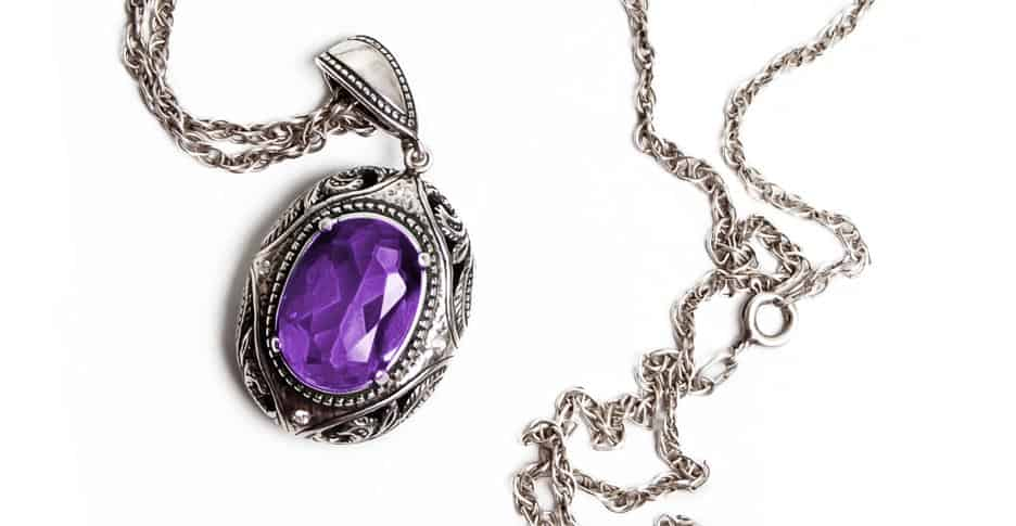 what does purple mean on a mood necklace